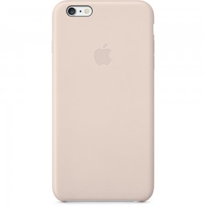 iPhone 6 Plus Leather Case Soft Pink