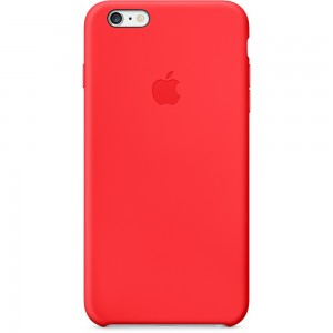 iPhone 6 Plus Silicone Case (PRODUCT) Red